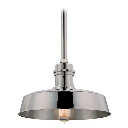 Hudson Valley Lighting Modern Mini-Pendant Light 8610-PN