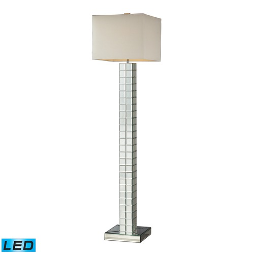 Dimond Lighting Dimond Lighting Clear LED Floor Lamp with Square Shade D2166-LED