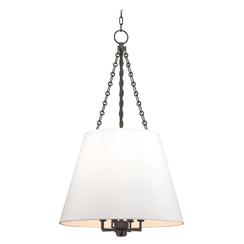 Hudson Valley Lighting Hudson Valley Lighting Burdett Old Bronze Pendant Light with Empire Shade 6422-OB