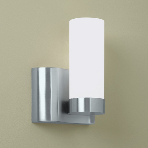 Norwell Lighting Norwell Lighting Wave Brush Nickel Sconce 8900-BN-SO