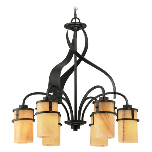 Quoizel Lighting Quoizel Kyle Imperial Bronze Chandelier KY5106IB