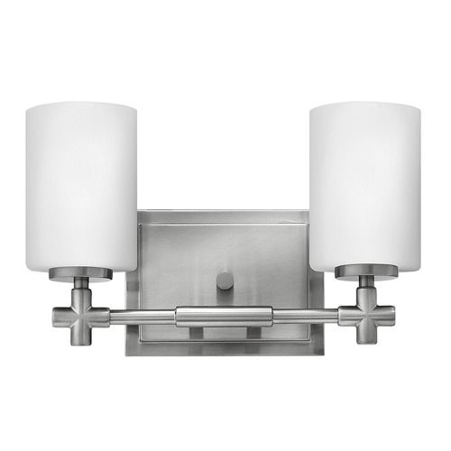 Hinkley Lighting Hinkley Lighting Laurel Brushed Nickel Bathroom Light 57552BN