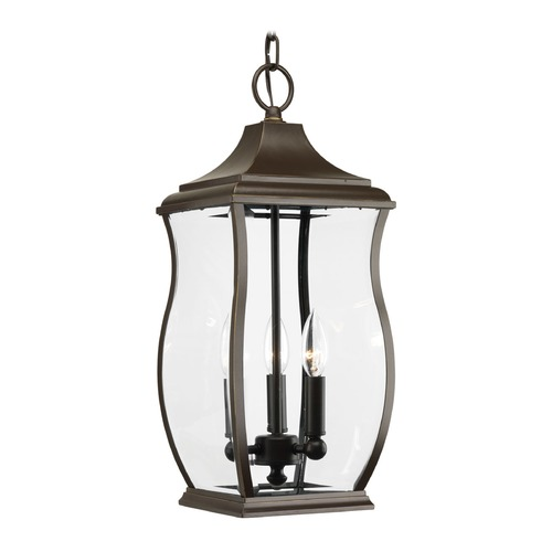 Progress Lighting Progress Lighting Township Oil Rubbed Bronze Outdoor Hanging Light P5504-108