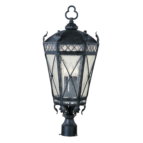 Maxim Lighting Maxim Lighting Canterbury Artesian Bronze Post Light 30451CDAT