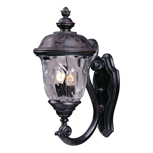Maxim Lighting Maxim Lighting Carriage House Vx Oriental Bronze Outdoor Wall Light 40423WGOB