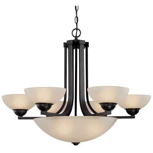 Dolan Designs Lighting Nine-Light Chandelier 205-78