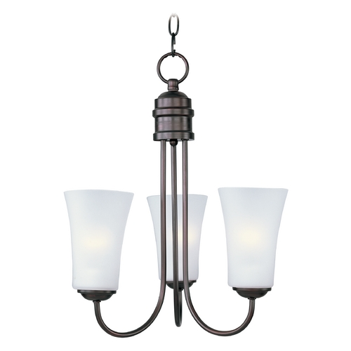 Maxim Lighting Maxim Lighting Logan Oil Rubbed Bronze Chandelier 10043FTOI