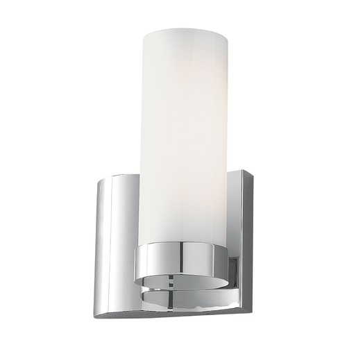 Norwell Lighting Norwell Lighting Wave Chrome Sconce 8900-CH-SO