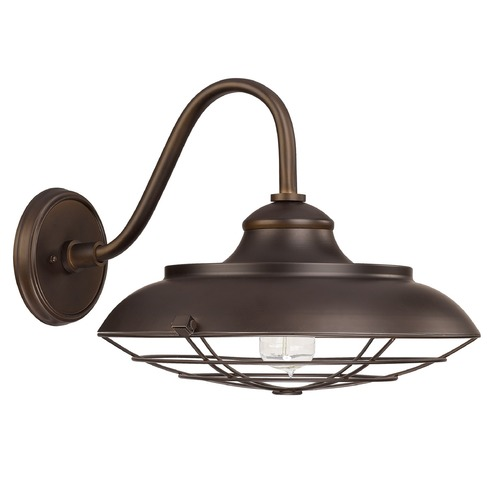 Capital Lighting Capital Lighting Outdoor Burnished Bronze Outdoor Wall Light 4562BB