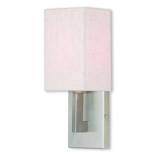 Livex Lighting Livex Lighting Meridian Brushed Nickel Sconce 52131-91