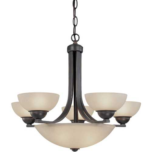 Dolan Designs Lighting Dolan Designs 5-Light Chandelier in Bolivian Bronze 208-78