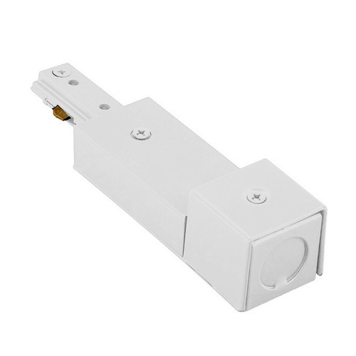 WAC Lighting WAC Lighting White J Track Live End BX Connector JBXLE-WT