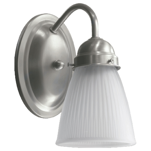 Quorum Lighting Quorum Lighting Satin Nickel Sconce 5403-1-165