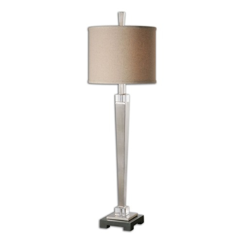Uttermost Lighting Uttermost Terme Brushed Nickel Buffet Lamp 29581-1