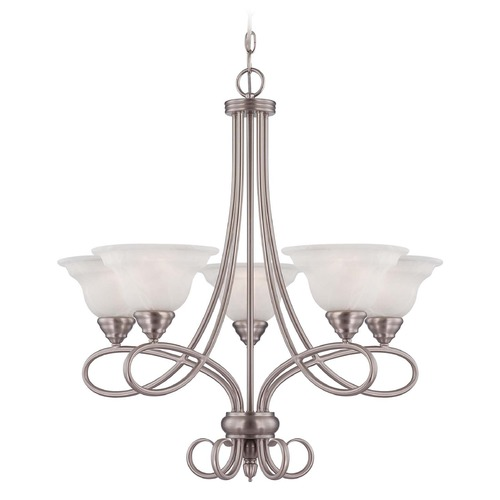 Savoy House Savoy House Pewter Chandelier 1-120-5-69