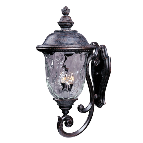 Maxim Lighting Maxim Lighting Carriage House Vx Oriental Bronze Outdoor Wall Light 40425WGOB