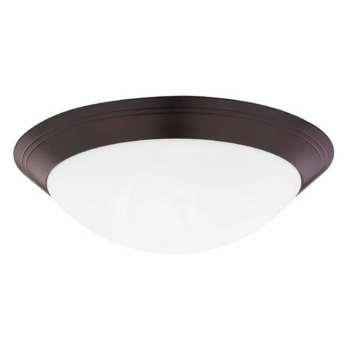 Design Classics Lighting 16-Inch Flushmount Ceiling Light 1016-30/W