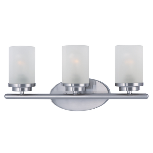 Maxim Lighting Maxim Lighting Corona Satin Nickel Bathroom Light 10213FTSN