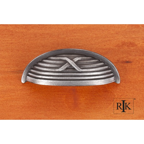 RK International Lines & Single Cross Rounded Cup Pull CF956DN