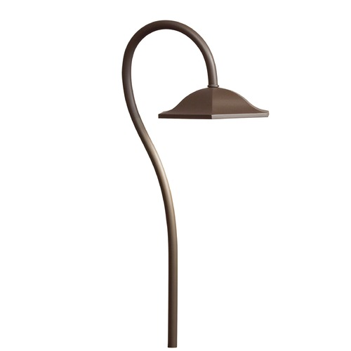 Kichler Lighting Kichler Lighting Textured Architectural Bronze LED Path Light 15807AZT30R