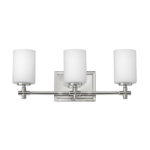 Hinkley Lighting Hinkley Lighting Laurel Polished Nickel Bathroom Light 57553PN