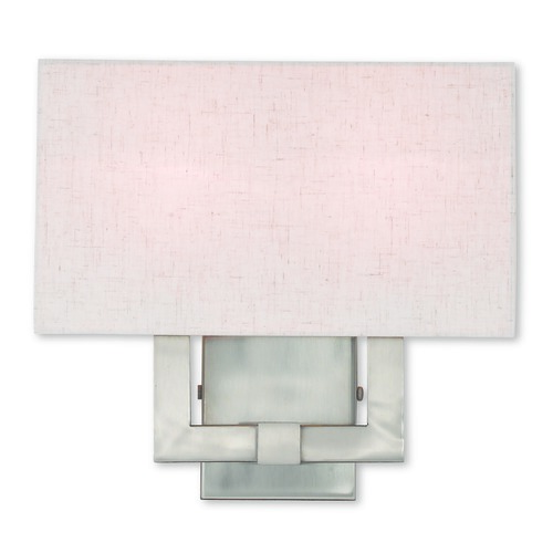 Livex Lighting Livex Lighting Meridian Brushed Nickel Sconce 52132-91