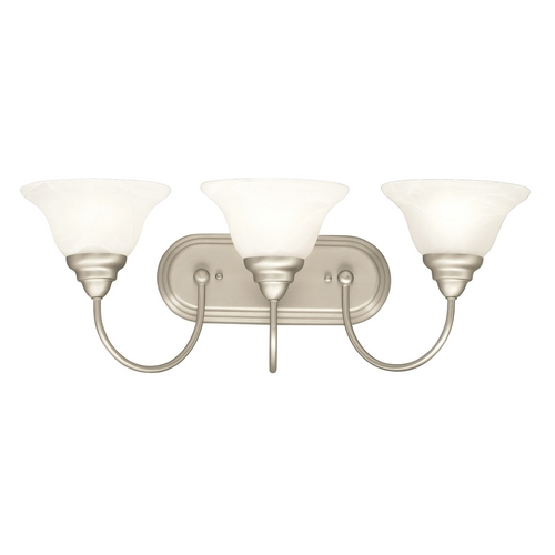 Kichler Lighting Kichler Bathroom Light in Brushed Nickel Finish 5993NI