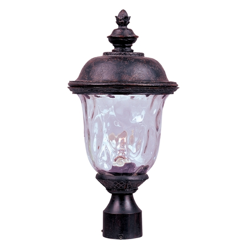Maxim Lighting Maxim Lighting Carriage House Vx Oriental Bronze Post Light 40426WGOB