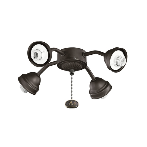 Kichler Lighting Kichler Lighting Satin Natural Bronze Light Kit 350102SNB