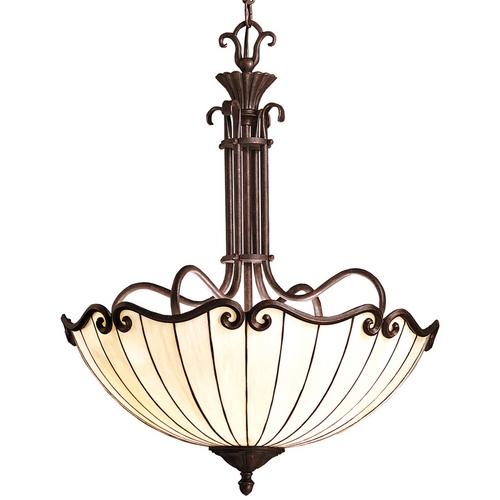 Kichler Lighting Kichler Pendant Lights in Tannery Bronze W/ Gold Accent Finish 65217