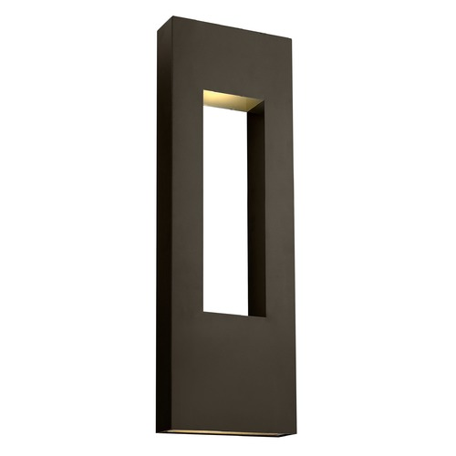 Hinkley Lighting Hinkley Lighting Atlantis Bronze LED Outdoor Wall Light 1639BZ-LED