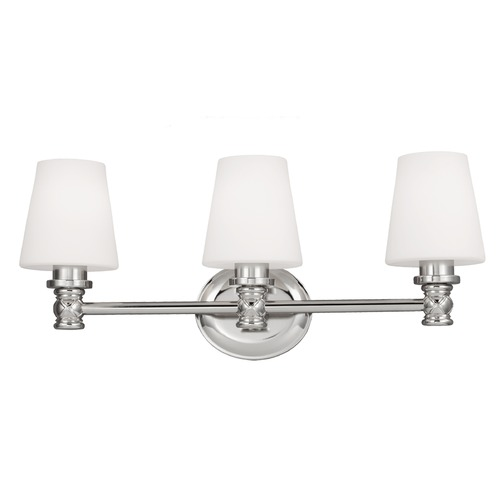 Feiss Lighting Feiss Lighting Xavierre Polished Nickel Bathroom Light VS22103PN