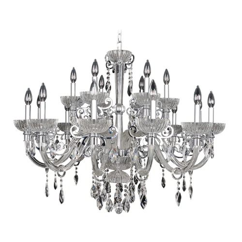 Allegri Lighting La Valle 18 Light Crystal Chandelier 022252-010-FR001