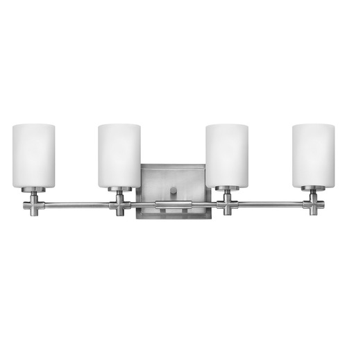 Hinkley Lighting Hinkley Lighting Laurel Brushed Nickel Bathroom Light 57554BN