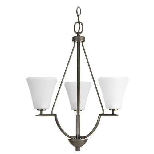 Progress Lighting Progress Lighting Bravo Antique Bronze Mini-Chandelier P3821-20W