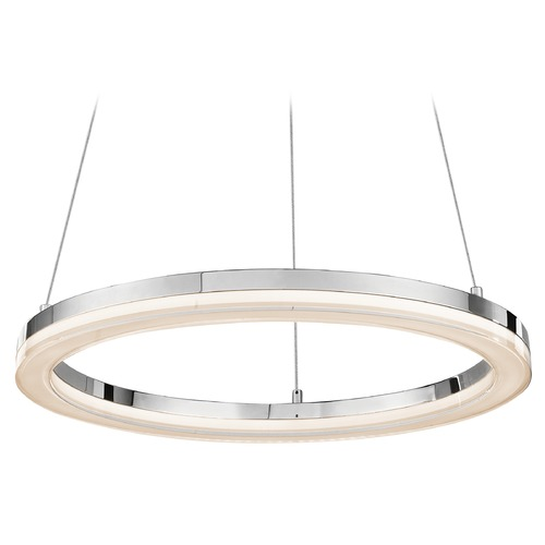 Elan Lighting Elan Lighting Ithican Chrome LED Pendant Light 83442