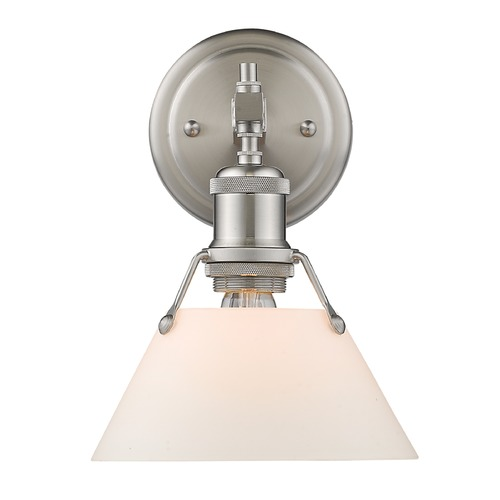 Golden Lighting Golden Lighting Orwell Pw Pewter Sconce 3306-BA1 PW-OP