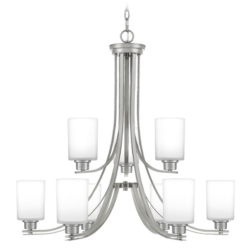 Quoizel Lighting Quoizel Lighting Pruitt Brushed Nickel Chandelier PRUO5034BN