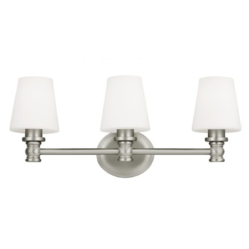 Feiss Lighting Feiss Lighting Xavierre Satin Nickel Bathroom Light VS22103SN
