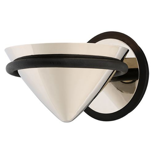 Troy Lighting Troy Lighting Zero Gravity Carbide Black and Polished Nickel LED Sconce BL4811