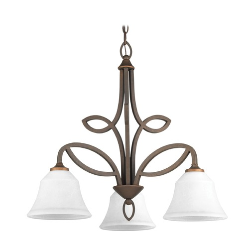 Progress Lighting Progress Lighting Monogram Roasted Java Chandelier P4736-102