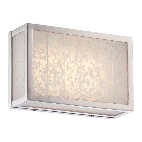 Metropolitan Lighting Metropolitan Lake Frost Polished Nickel LED Bathroom Light N1741-613-L