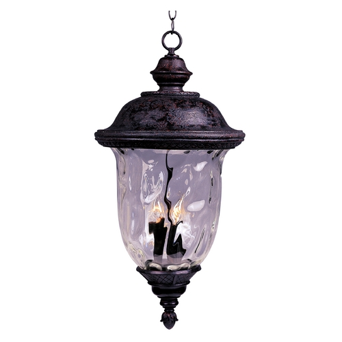 Maxim Lighting Maxim Lighting Carriage House Vx Oriental Bronze Outdoor Hanging Light 40428WGOB
