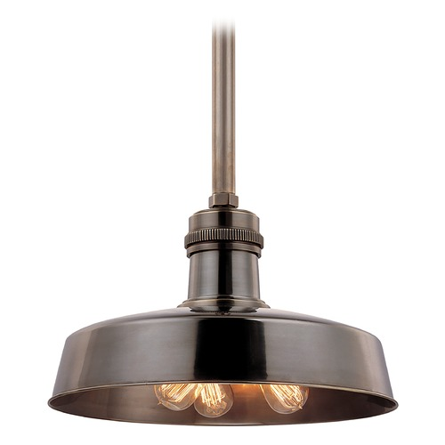 Hudson Valley Lighting Modern Pendant Light in Distressed Bronze Finish 8618-DB
