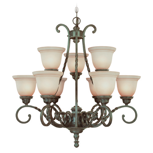Craftmade Lighting Craftmade Sutherland English Toffee Chandelier 22429-ET