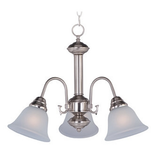 Maxim Lighting Maxim Lighting Malaga Satin Nickel Mini-Chandelier 2697FTSN
