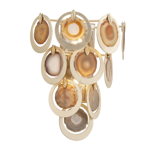 Corbett Lighting Corbett Lighting Rock Star Gold Leaf Sconce 190-12