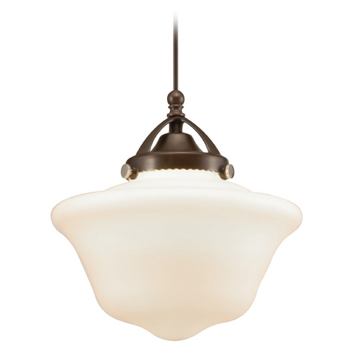WAC Lighting Wac Lighting Early Electric Collection Dark Bronze LED Mini-Pendant MP-LED492-WT/DB