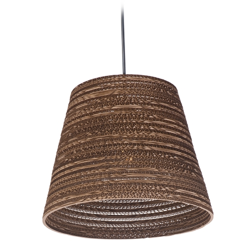 Maxim Lighting Maxim Lighting Java Black Pendant Light with Empire Shade 9102JVBK