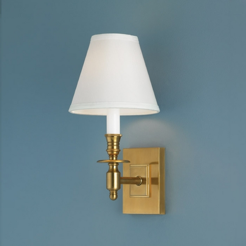Norwell Lighting Norwell Lighting Weston Aged Brass Sconce 5120-AG-WS